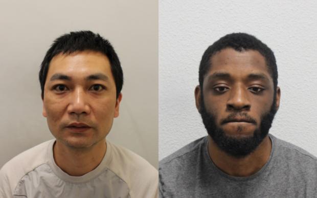 News Shopper: Huang and Morgan-Findlay. Images: Met Police