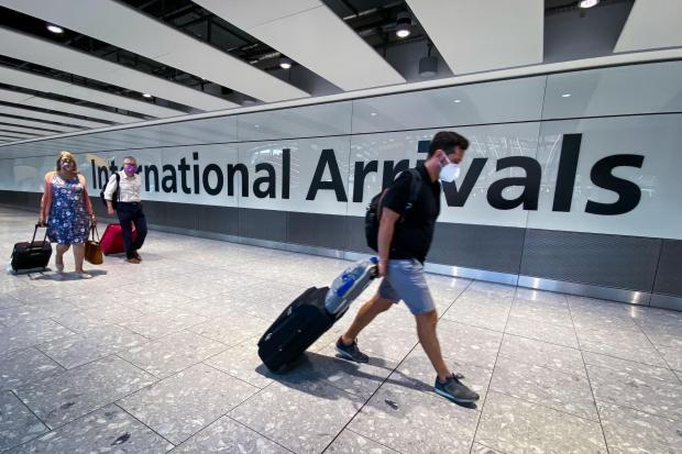 News Shopper: A passenger at Heathrow