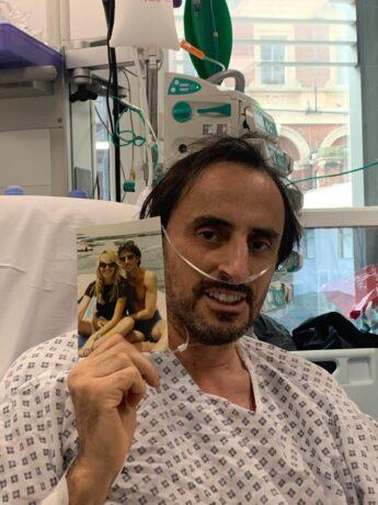 News Shopper: Nicolas recovering in hospital. Image: LAS
