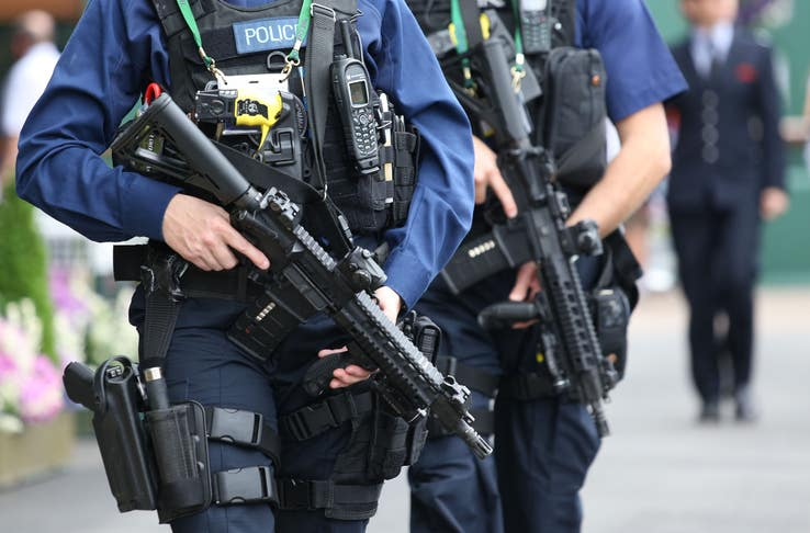 Armed police attend low number of incidents in London