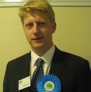 Jo Johnson, the new MP for Orpington