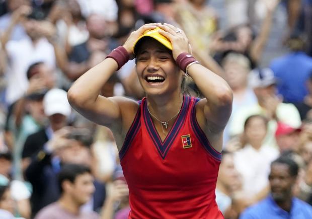 News Shopper: Emma Raducanu at the US Open last week - PA