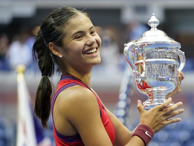 News Shopper: US Open Champion Emma Raducanu (PA)