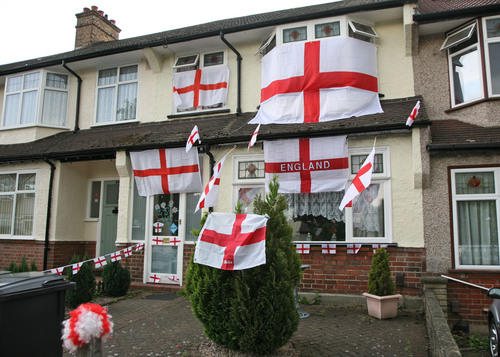 Will you be going wild with World Cup fever, decorating your house or yourself with England colours?