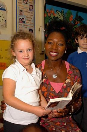 Baroness Benjamin of Beckenham (right)