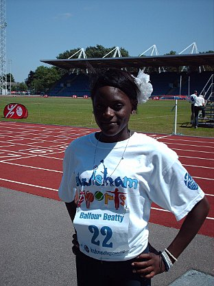 Daryll Neita did Lewisham proud at the Games