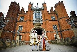 News Shopper: Royal celebration: King Henry VIII and his sixth wife Queen Kateryn Parr at Hampton Court Palace