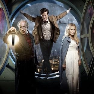 News Shopper: Matt Smith stars as the Doctor alongside Michael Gambon and singer Katherine Jenkins in the Doctor Who Christmas special