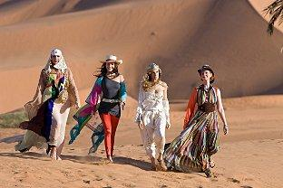 The Sex and the City girls go in search of excitement in the desert