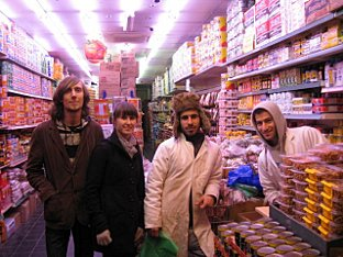 News Shopper: Martin Bowman, Kelly Smale collect food from Jalal Abdulla, Omar Kareem