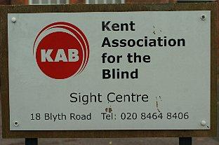 Kent Association for the Blind's Bromley branch