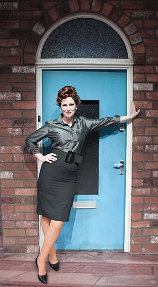 Josie Walker as Elsie Tanner in Corrie!