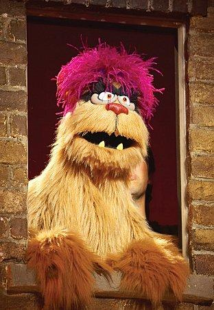 News Shopper: Avenue Q's Trekkie Monster. Photo: Brinkhoff Mogenburg