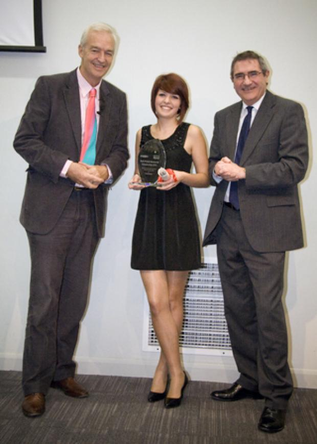 Jon Snow, Tania Steere and Rob Kirk (Photograph courtesy of Gerardo Calia)