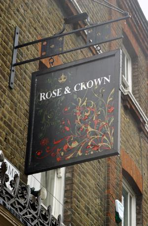 Greenwich pub the Rose and Crown to hold gay hate crime surgery