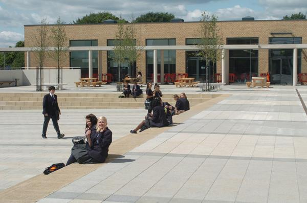 The college recently moved into new buildings worth £50m