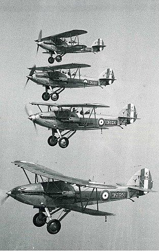 The Hawker Demons of 23 Squadron (Pictures taken from 'Biggin on the Bump' by Bob Ogley)