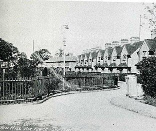 RAF married quarters at Biggin Hill (Pictures taken from 'Biggin on the Bump' by Bob Ogley)