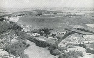 News Shopper: Airfield camouflage: Pre-war reconnaissance photo of Biggin Hill airfield taken from the German airline Lufthansa en route for Croydon, recovered from German archives after the war. (Pictures taken from Bob Ogley's Biggin On The Bump)