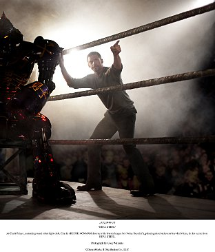 Hugh Jackman and Shawn Levy chat about their new movie Real Steel