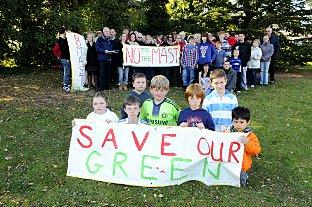 Residents are petitioning against the phone mast in Swanley