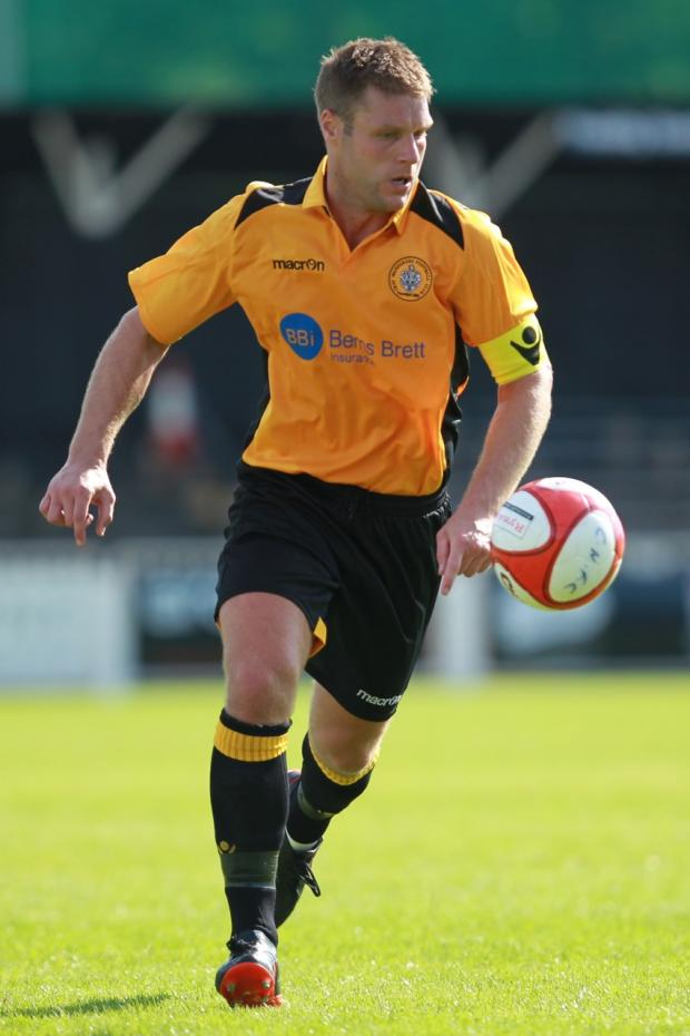 Cray skipper Mark Willy scored an early goal in their 1-1 draw at Leiston.