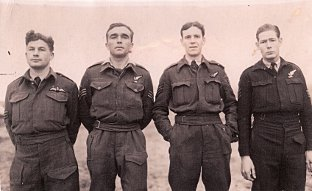 News Shopper: Sergeant David Raikes, Flight Sergeant David Millard Perkins, Flight Sergeant Alexander Bostock, Warrant Officer John Hunt