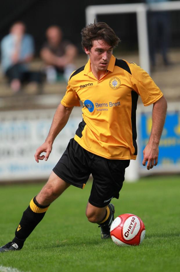 Leigh Bremner scored his 100th goal for Cray Wanderers in their home defeat versus Whitehawk.