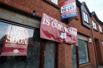 News Shopper: Costa has begun fitting out a new cafe in Straight Bit