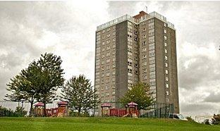 The sprawling tower blocks are an obvious feature for film makers.