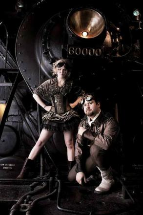 Steampunk enthusiasts can get in involved at Abbey Wood