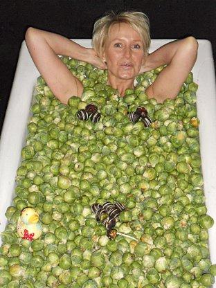 News Shopper: Baker's wife hops into bath of chocolate covered Brussel sprouts