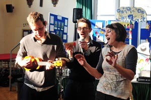 News Shopper: Musical families take part in improvised jazz concert
