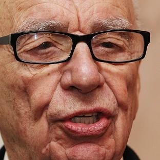 Rupert Murdoch was in Hertfordshire to witness the Sun on Sunday tabloid roll off the press for the first time
