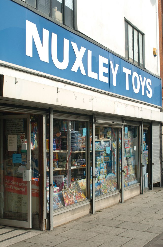 The remaining Nuxley Toys shop in Gravesend pictured in 2012 when the Welling store closed down