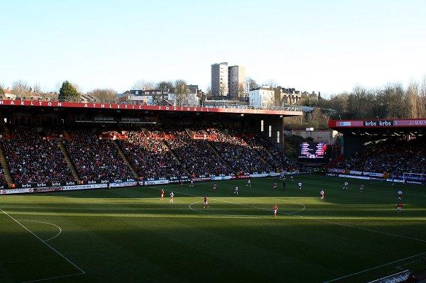 The Valley was packed for the visit of Stevenage last seaon when Football for a Fiver was last on offer. EDMUND BOYDEN.