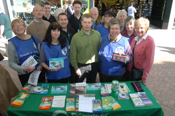 News Shopper: FoE showed their support for the council's waste collection programme