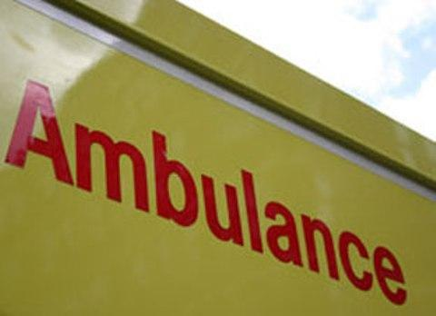 A person was hit by a train near Farningham Road this morning