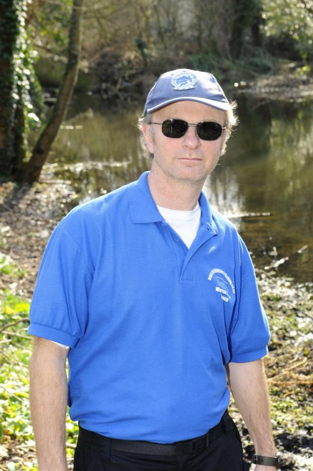 Angling coach Warren White says it is a worry, despite a good dose of rainfall at the weekend