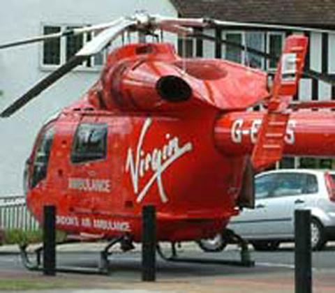 Man flown to hospital after road accident in Woolwich