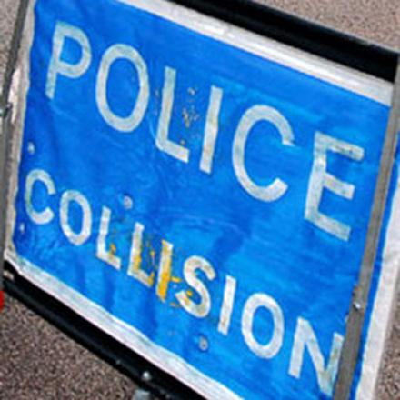 Police are dealing with the aftermath of the crash on the A2.