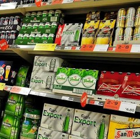Children 'recognise alcohol brands'