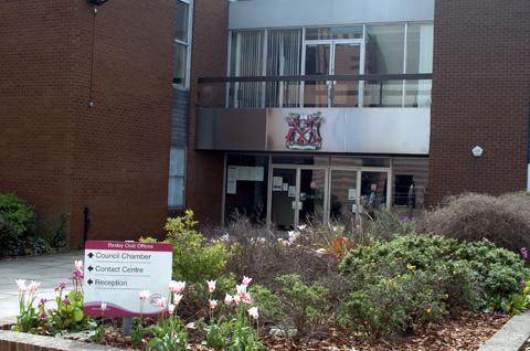 Bexley Council's civic offices in Broadway, Bexleyheath