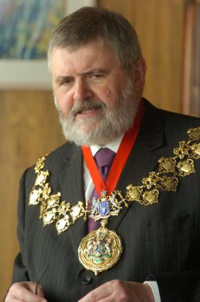 Elections for the Mayor of Lewisham are taking place on May 22; pictured Mayor of Lewisham Sir Steve Bullock