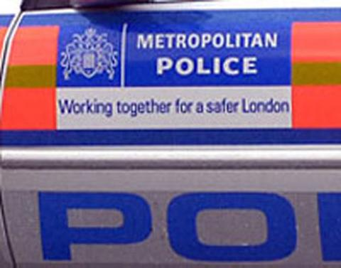 Lewisham officers were joined by a dig unit and members of the Met's firearms squad