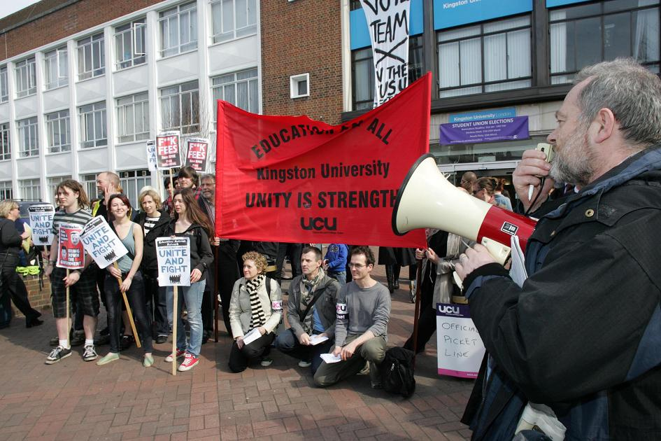 University staff strike enters third day