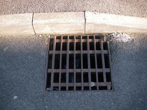 The number of drain cover thefts has fallen significantly.