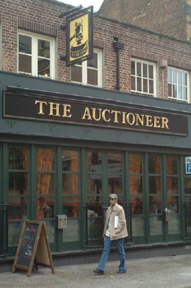 PubSpy reviews Auctioneer, Greenwich