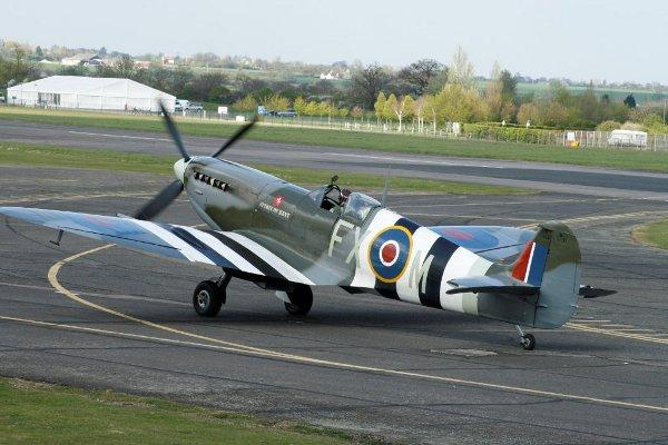 The Spirit of Kent Spitfire Mark 9