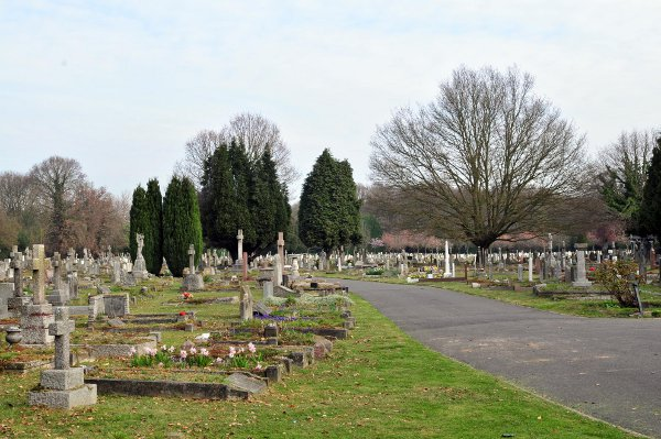 Marianne Hrustanovic had wanted to be buried next to her husband in Chislehurst Cemetery